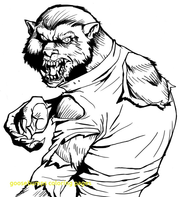 Goosebumps Coloring Pages at GetDrawings | Free download