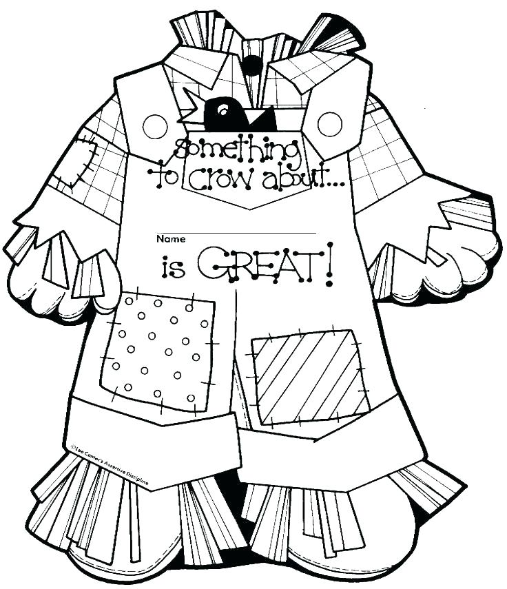 736x855 Free Printable Scarecrow Coloring Sheets Goosebumps Coloring Pages