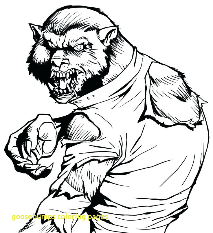 736x804 Goosebumps Coloring Pages Printable Archives