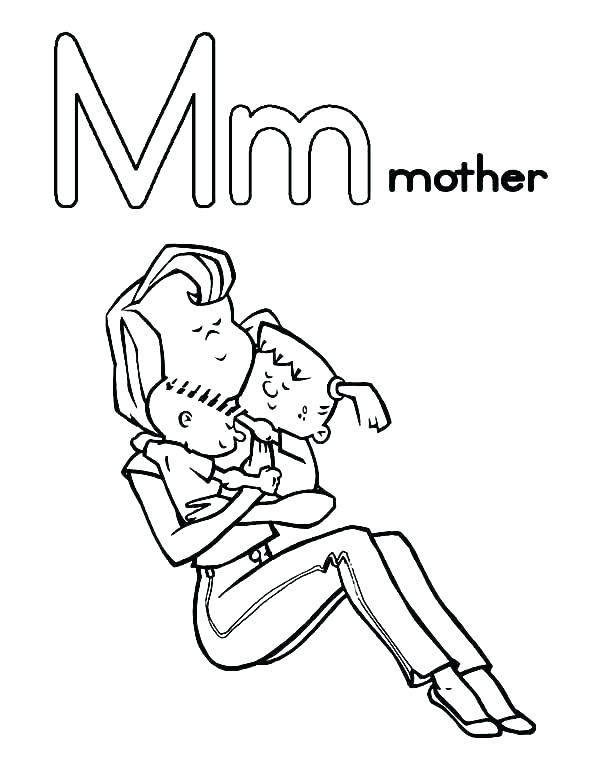 600x771 Mother Goose Printable Coloring Pages