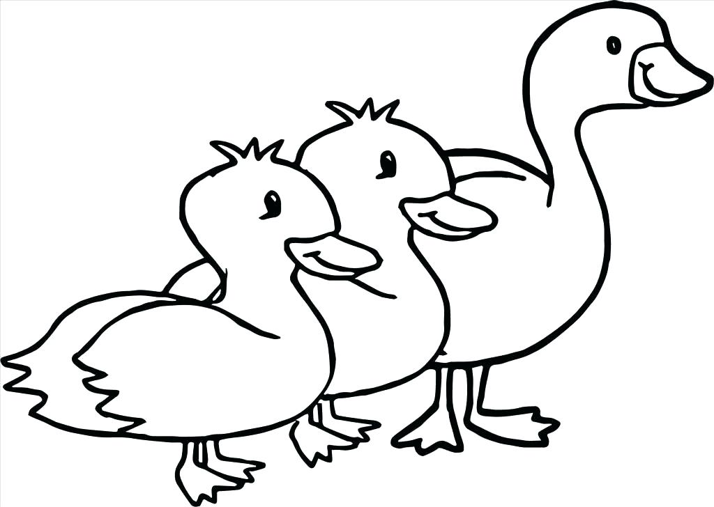 1024x728 Goose Coloring Page Goose Coloring Page Great Goose Coloring Pages