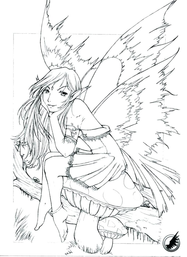 744x1024 Goth Coloring Pages Free Fairy Coloring Pages Fairy Coloring Pages