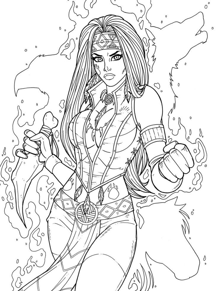 736x981 Goth Girl Coloring Pages Unique Best Coloring Fantasy Pinups