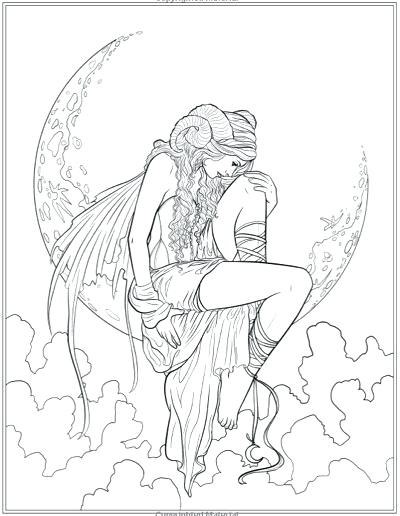 400x516 Gothic Coloring Pages Fairy Coloring Pages Beautiful Fairy