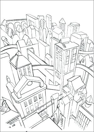300x420 City Coloring Pages Click To See Printable Version Of Steampunk