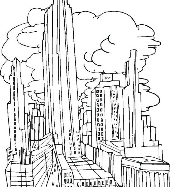 551x600 Coloring Pages City Construction Site Coloring Pages Awesome City
