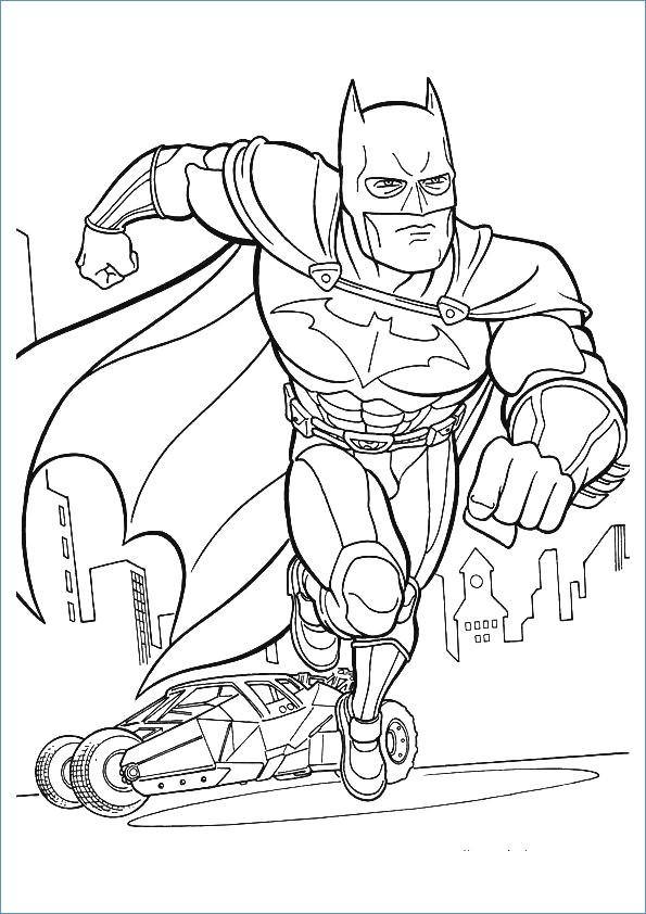 595x842 Gotham City Batman Coloring Pages