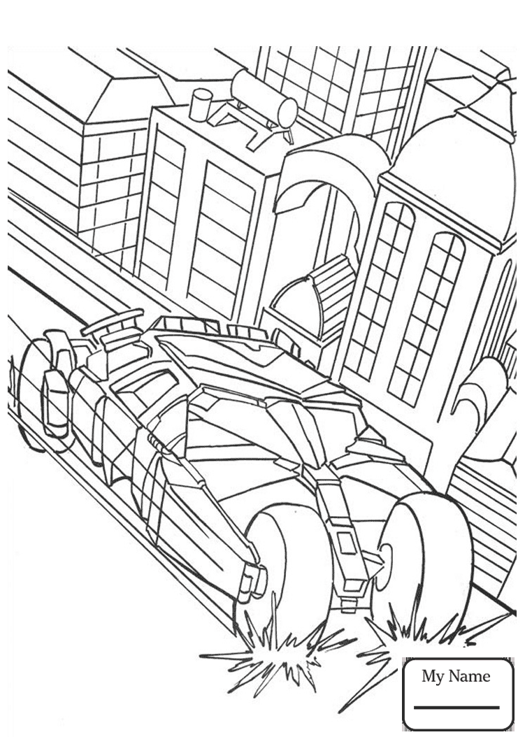 751x1064 Gotham City Coloring Pages
