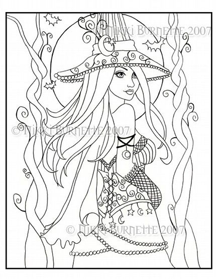 430x555 Gothic Coloring Pages Gothic Fairy Coloring Pages