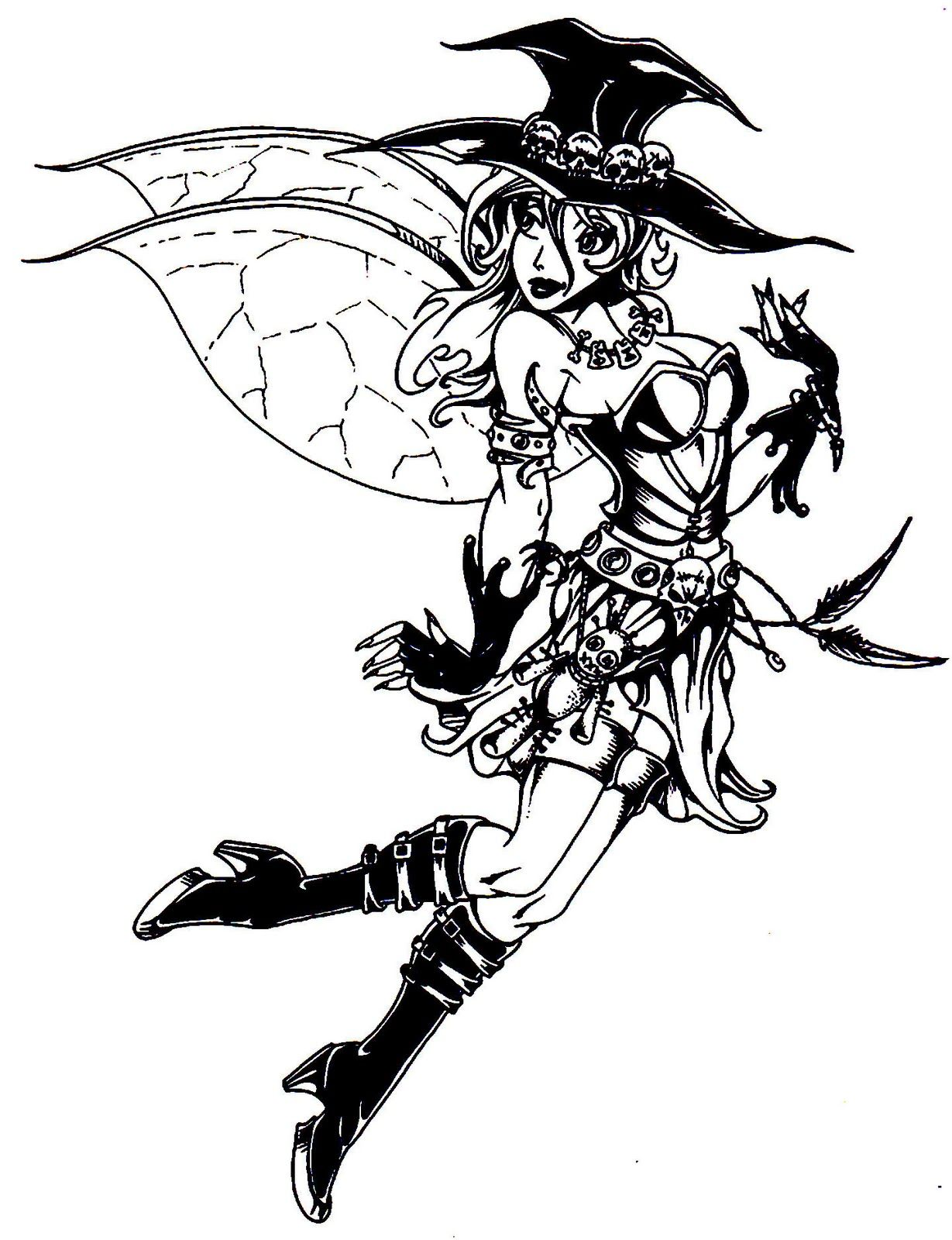 1229x1600 Adult Halloween Coloring Pages Halloween Colorings Fairies