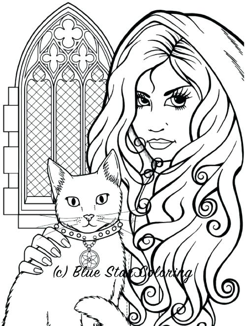 500x662 Gothic Coloring Pages Gothic Coloring Pages Best Coloring Books