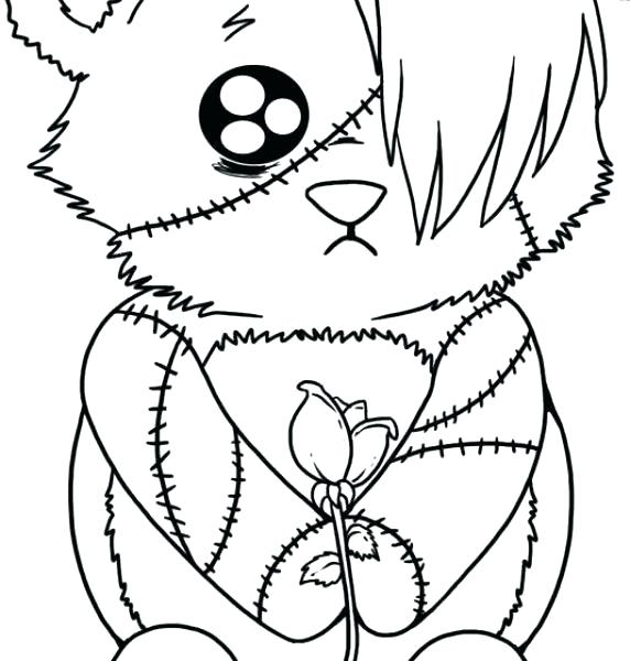 572x600 Gothic Coloring Pages Simple Coloring Pages Print To Kids Page