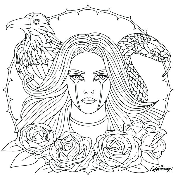 609x616 Gothic Coloring Pages Gothic Coloring Pages Coloring Page To Color