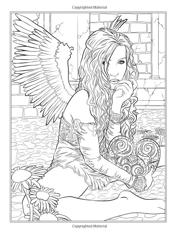 600x783 Selina Fenech Magical Christmas Coloring