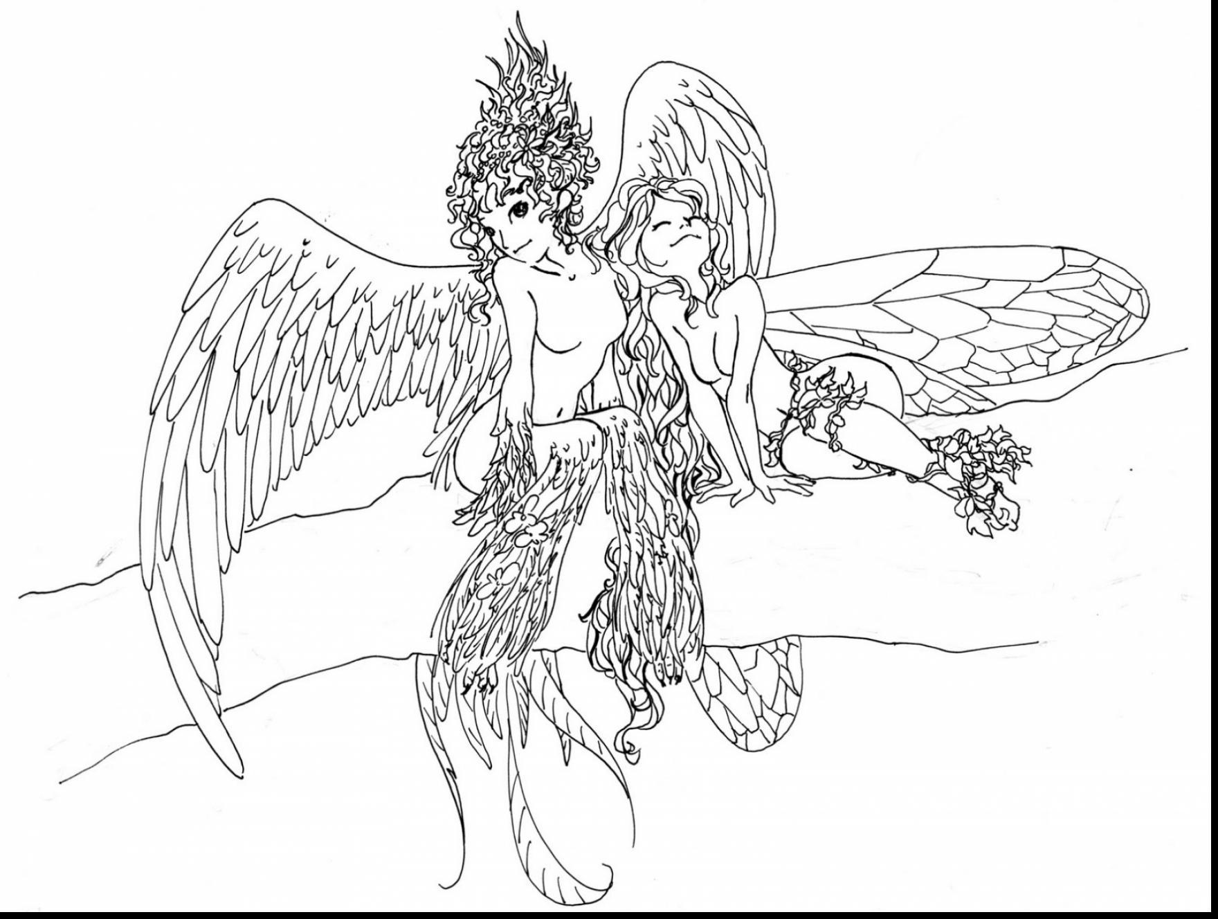 1760x1328 Appealing Astounding Fairy Coloring Pages For Adults