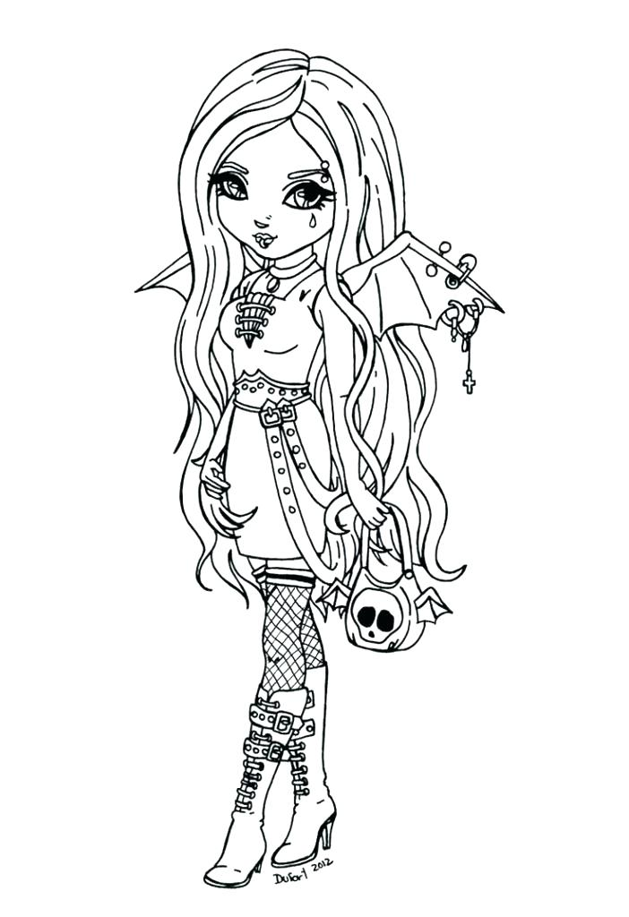 702x1024 Gothic Coloring Pages Goth Coloring Pages Best Adult Images