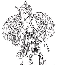 235x268 Gothic Fairies Coloring Pages Coloring Pages