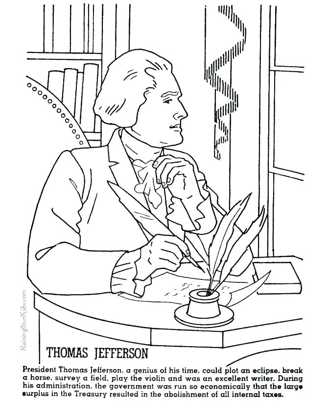 670x820 Franklin Coloring Pages Coloring Page Coloring Page Declaration