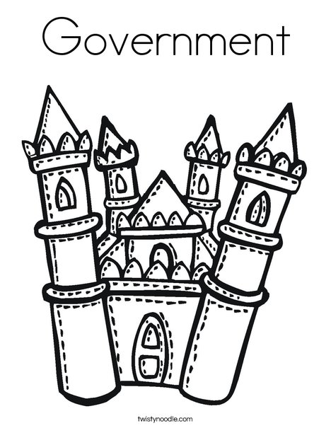 468x605 Government Coloring Page