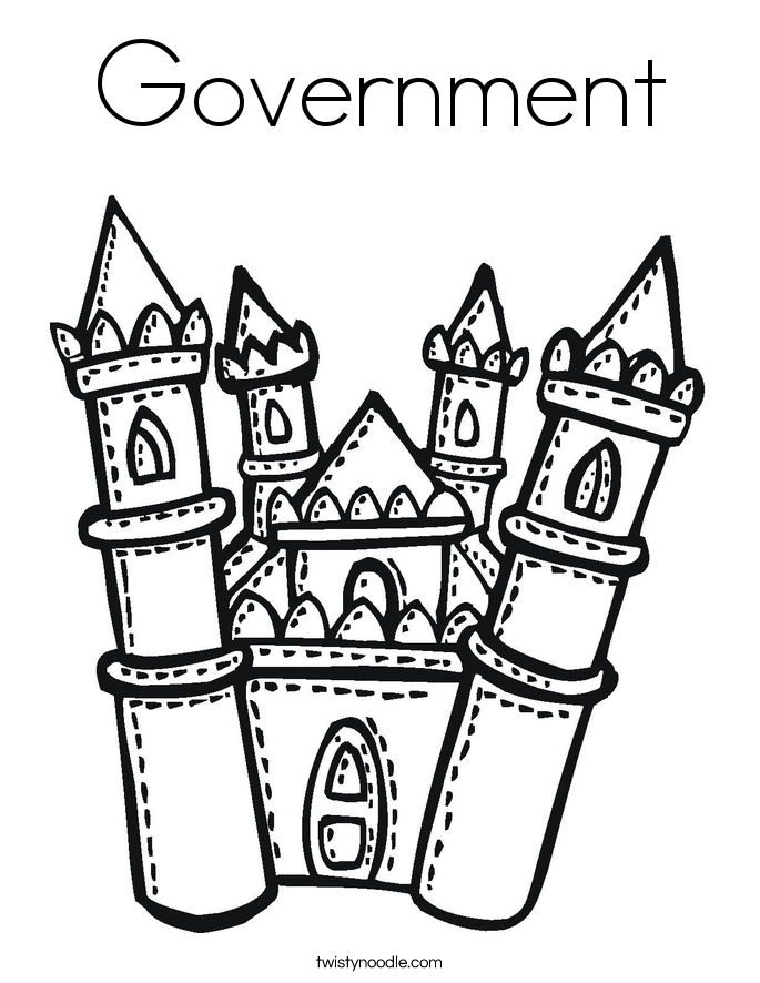 685x886 Government Coloring Page