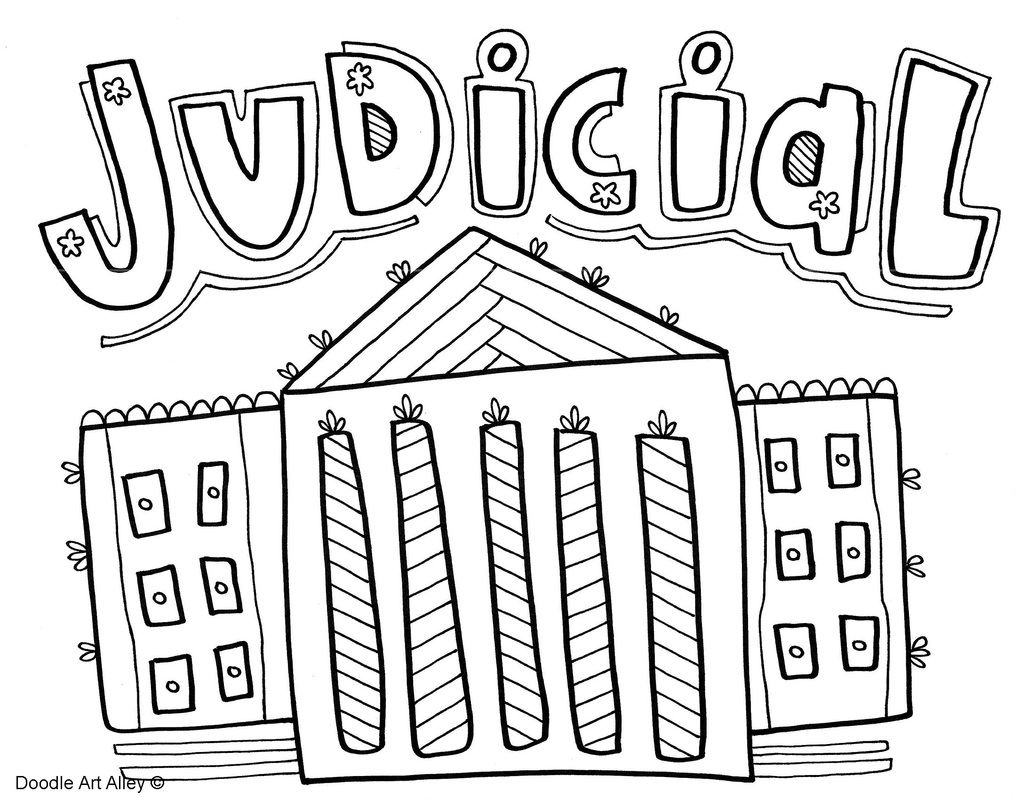 1035x800 Branches Of Government Coloring Pages, Classroom Doodles, Doodle