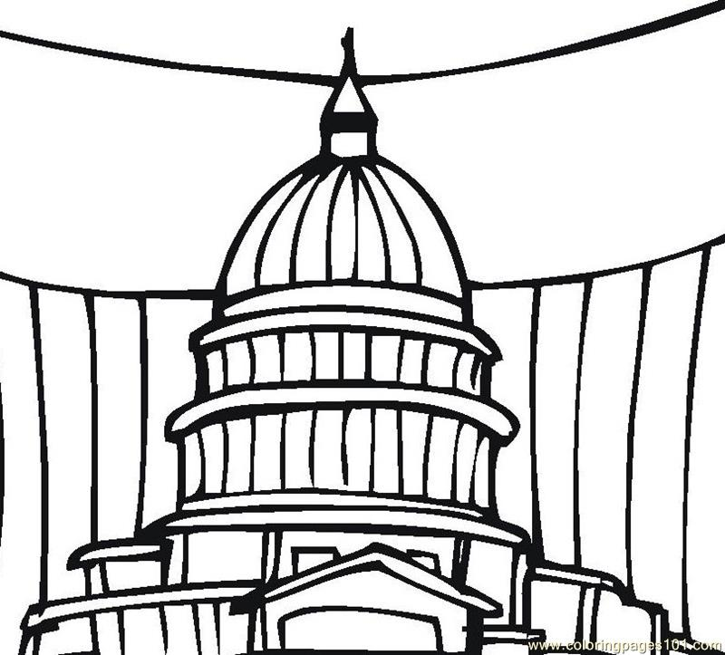 800x723 Branches Of Government Coloring Pages