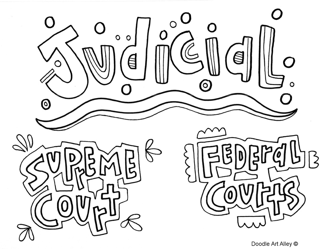 1035x800 Branches Of Government Coloring Pages And Printables