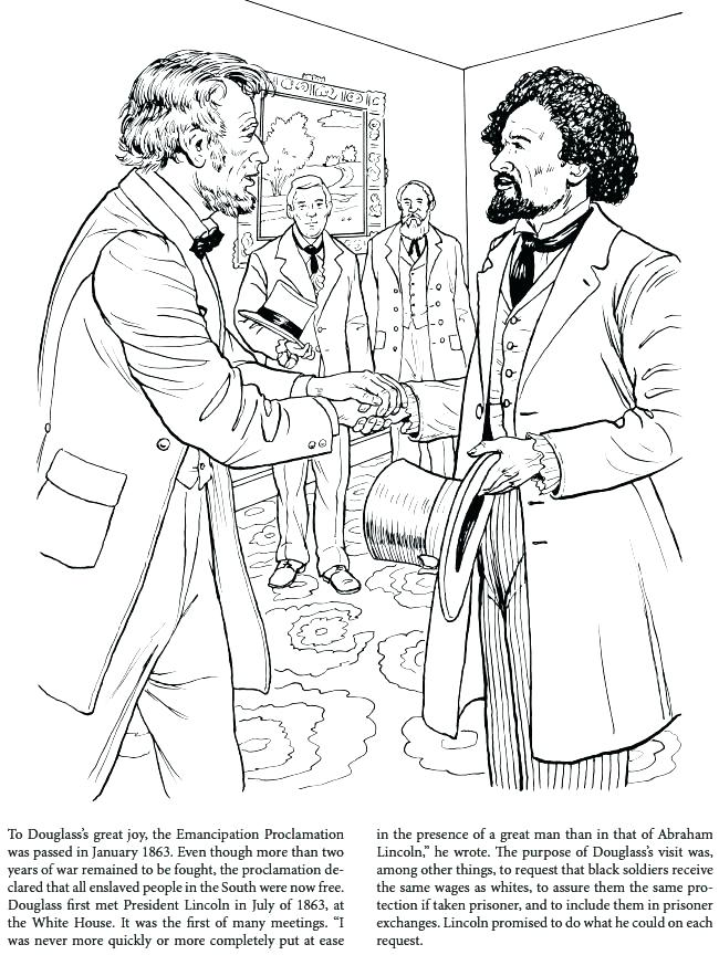 650x864 Coloring For Kidsnet Frederick Douglass Coloring Page One Of Many