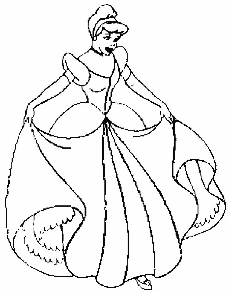 750x960 Cinderella Coloring Pages Inspirational Disney Princess Cinderella