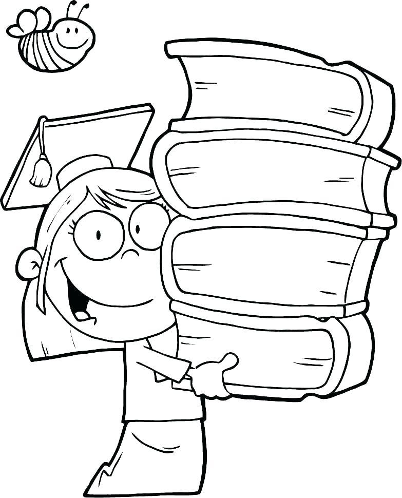 783x970 Graduation Cap Coloring Page Graduation Hat Images Graduation Cap