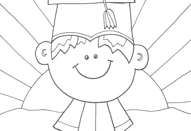 618x425 Graduation Cap Coloring Page Graduation Coloring Pages Girl