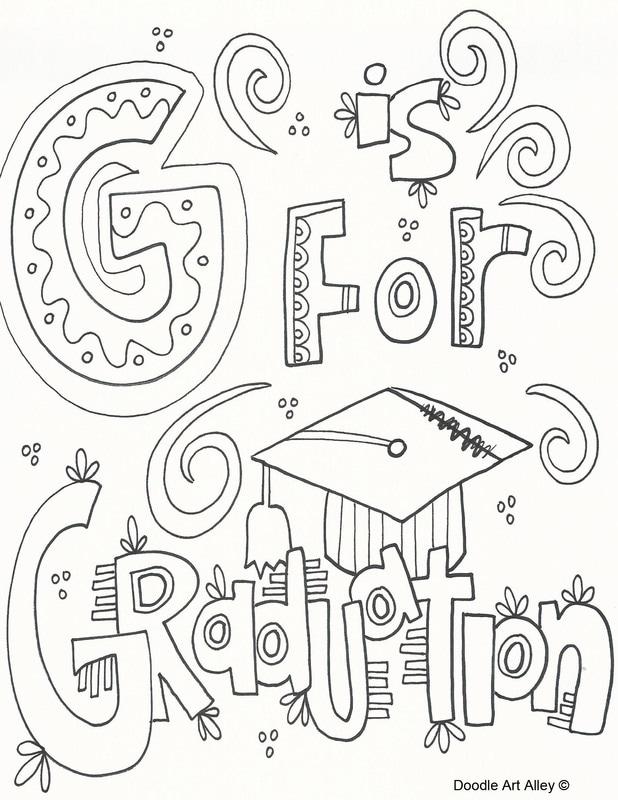 618x800 Graduation Coloring Pages