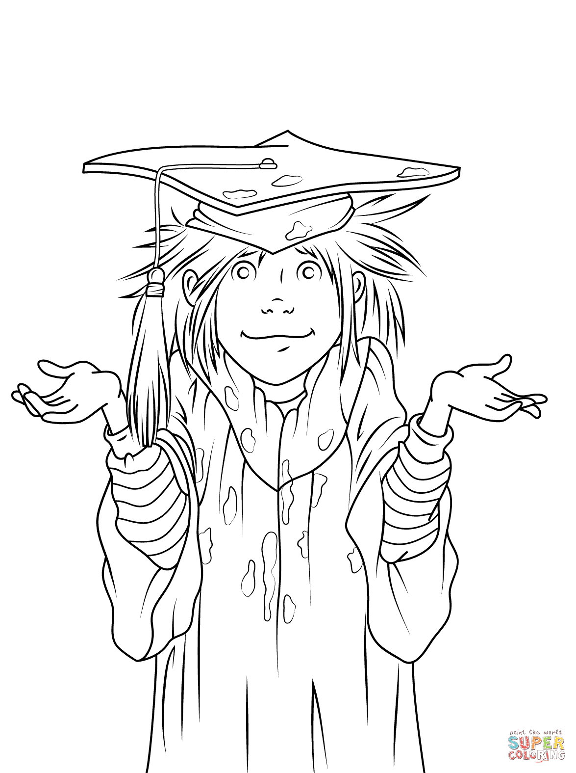 1175x1575 Reliable Graduation Coloring Pages To Print Junie B Jones Is