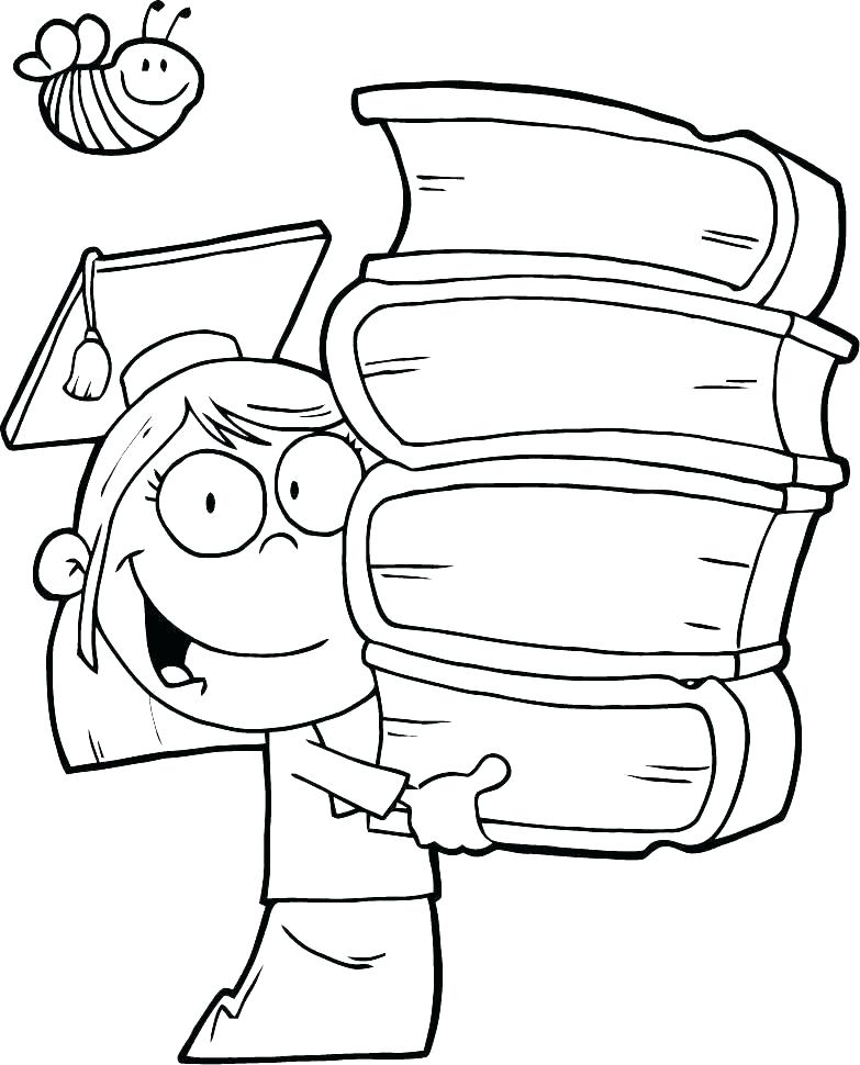 783x970 Graduation Coloring Pages Free Wedding Coloring Pages Wedding