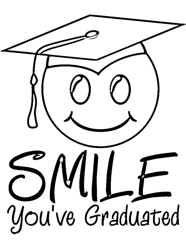 750x1000 Graduation Coloring Pages Luxury Graduation Coloring Pages