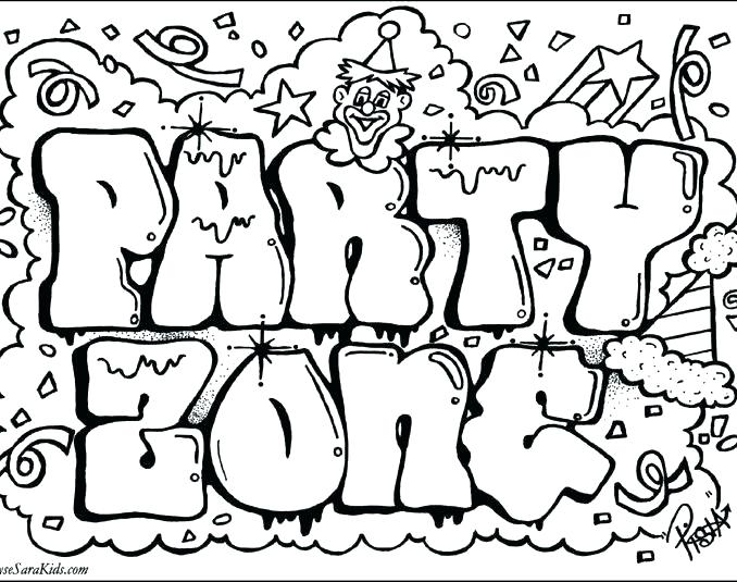 The Best Free Graffiti Coloring Page Images Download From 790 Free Coloring Pages Of Graffiti At Getdrawings