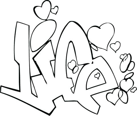 480x409 Graffiti Coloring Pages Coloring Pages Of Names Graffiti Coloring