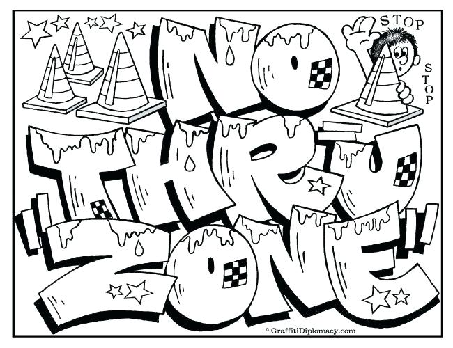650x500 Graffiti Coloring Pages For Adults Printable Coloring Coloring