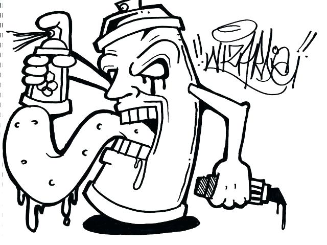 640x479 Graffiti Coloring Pages Inspirational Graffiti Coloring Pages