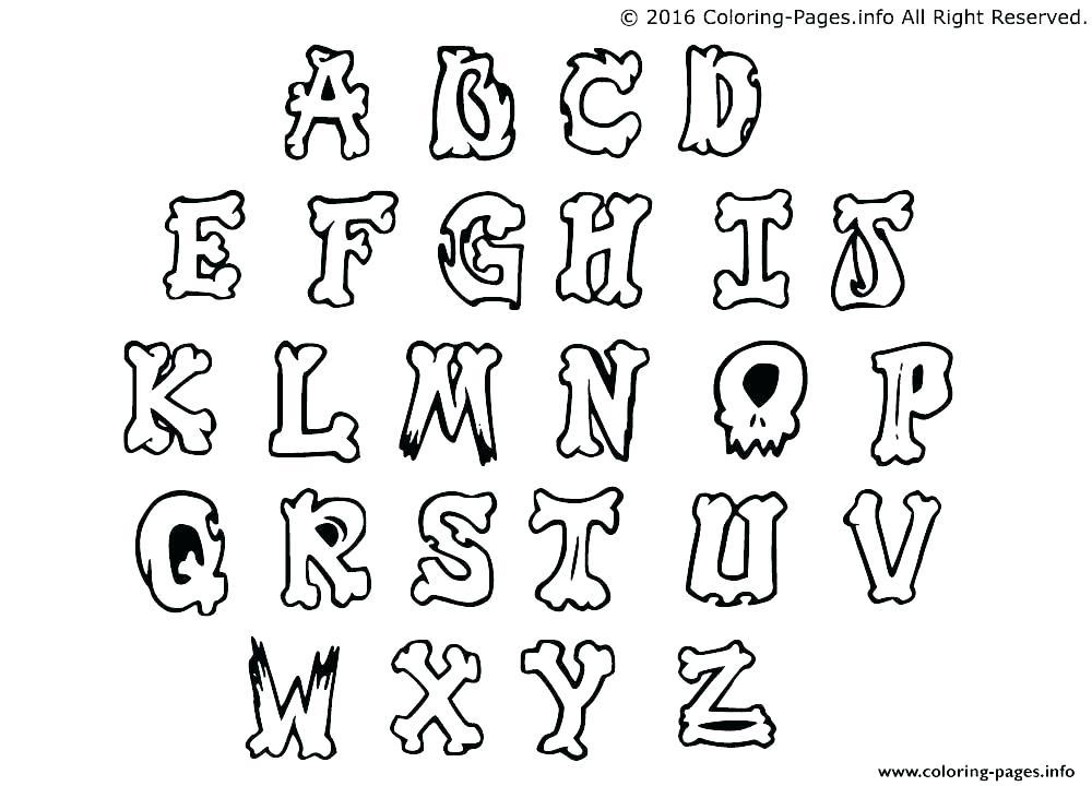 1000x720 Letter Coloring Alphabet Letters Coloring Pages Alphabet Letters