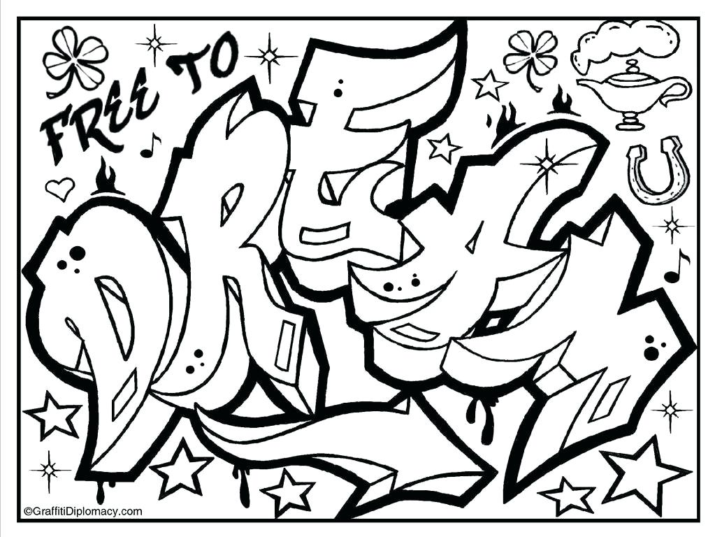 1023x768 Coloring Pages Of Graffiti Love Good Graffiti Coloring Pages