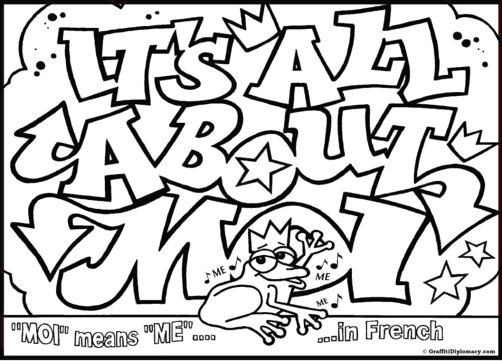 1024x738 Graffiti Omg Colouring Pages Coloring Graffiti