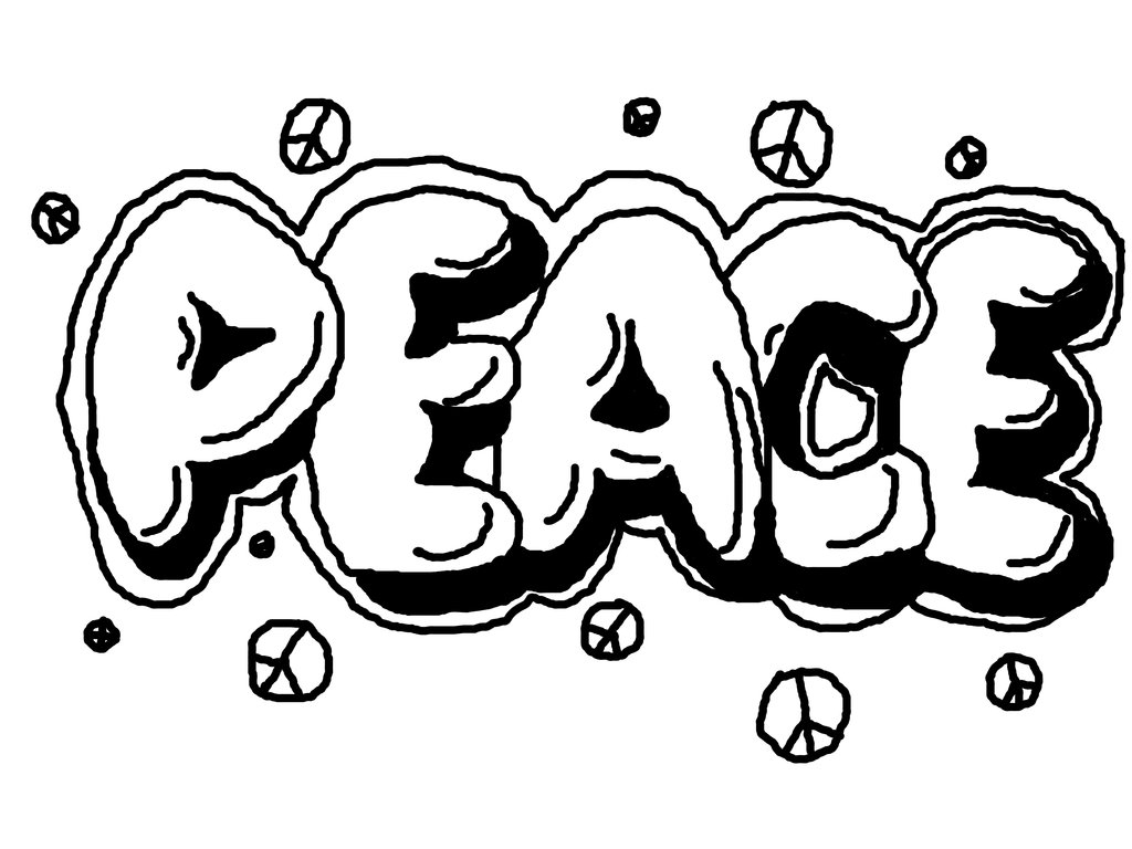 1024x768 Cool Coloring Pages For Teenagers Graffiti Color Bros Free