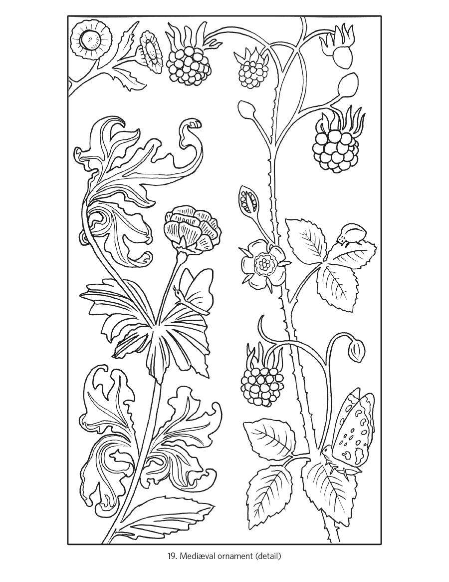 900x1165 Owen Jones The Grammar Of Ornament Coloring Book
