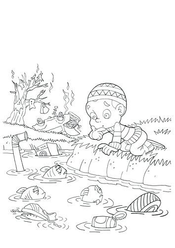 354x500 Air Pollution Coloring Pages Luxury Classroom Coloring Pages Free