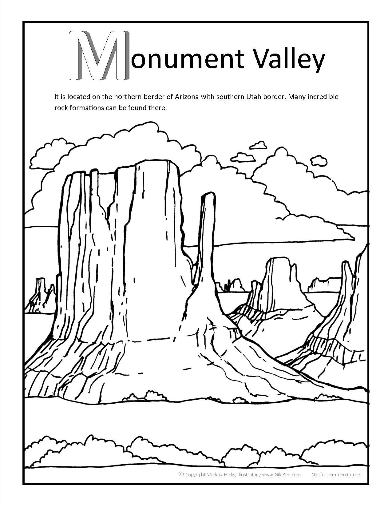 1275x1650 United States Coloring Page Best Of Grand Canyon Fine Pages Tixac