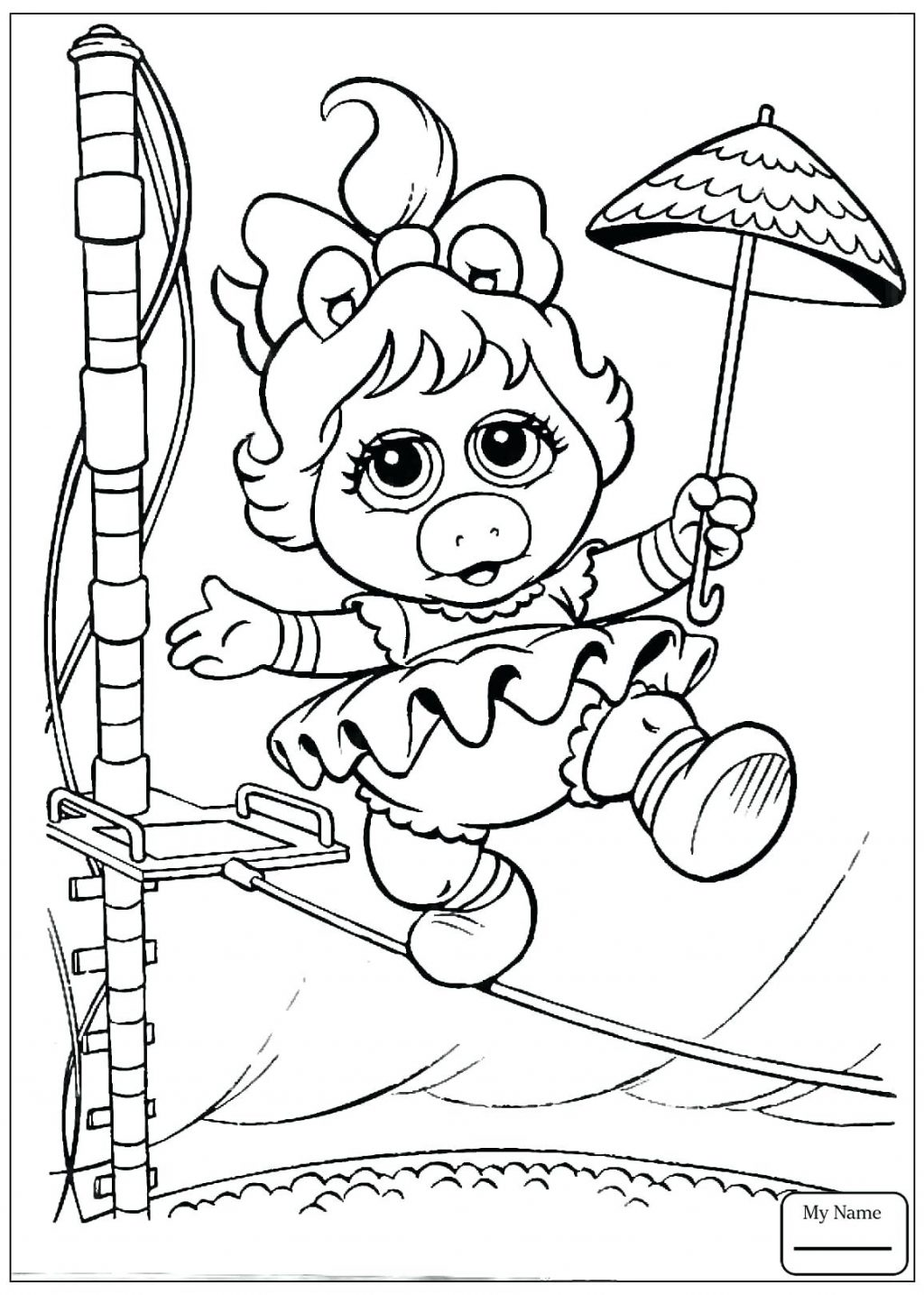 1024x1435 Coloring Page Muppets Coloring Pages Baby Scooter In Grand