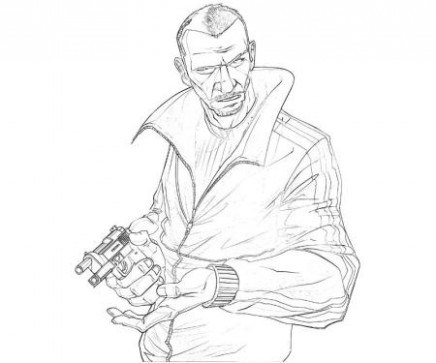 436x363 Grand Theft Auto Coloring Pages Coloring Pages