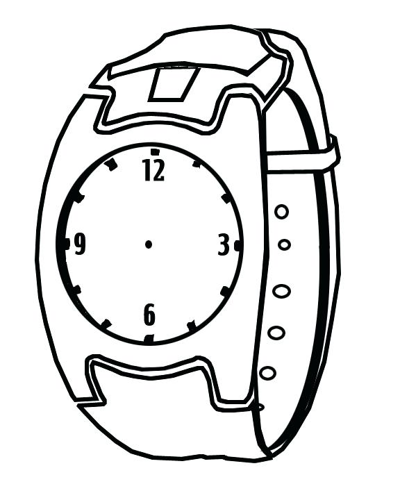 576x720 Clock Coloring Pages Grandfather Clock Coloring Pages Printable