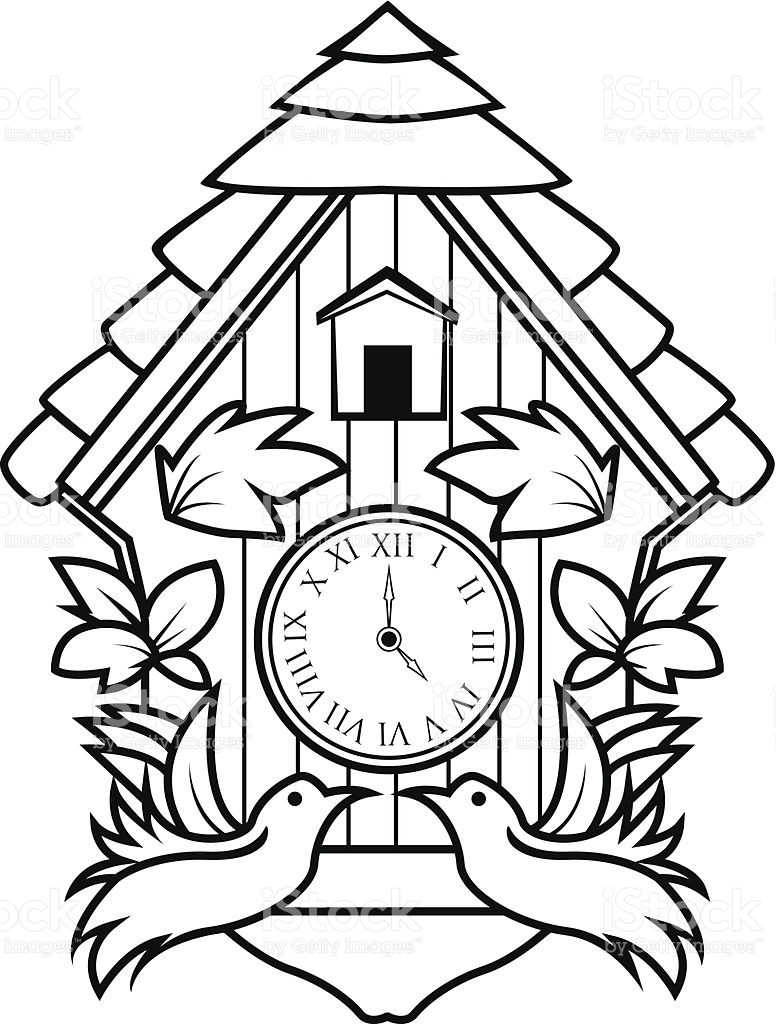 776x1024 Digital Clock Coloring Page Beautiful Grandfather Clock Drawing